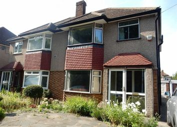 Thumbnail 3 bed semi-detached house to rent in Vine Close, West Drayton, Middlesex