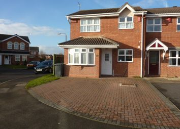 Thumbnail 3 bed town house to rent in Meadow Nook, Boulton Moor, Derby