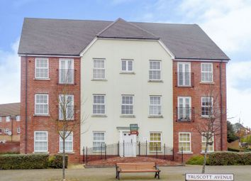 Thumbnail 2 bed flat for sale in Truscott Avenue, Swindon
