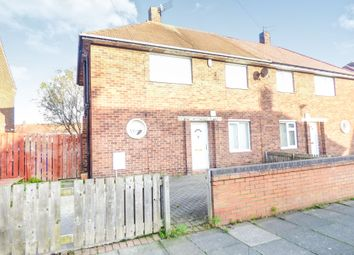 Thumbnail 3 bedroom semi-detached house to rent in Weardale Avenue, Blyth