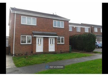 Thumbnail 2 bed semi-detached house to rent in Barnstone Vale, Wakefield