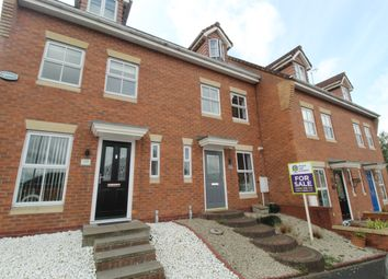 Thumbnail 3 bed mews house for sale in Burnthill Lane, Rugeley