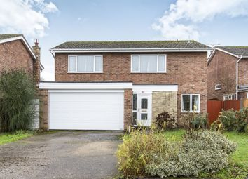 Thumbnail 4 bed detached house for sale in St James Road, Little Paxton, St. Neots
