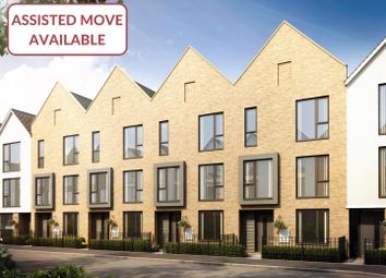 Thumbnail 4 bed town house for sale in The Hawker, St Andrew's Park, Uxbridge