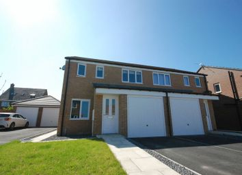Thumbnail 3 bed semi-detached house for sale in Swinley Crescent, Ashington
