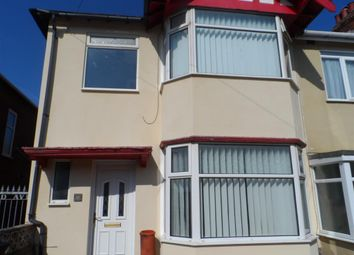 Thumbnail 3 bed end terrace house for sale in Wynnwood Avenue, Blackpool