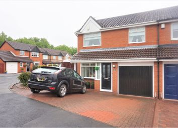 Thumbnail 3 bed semi-detached house for sale in Swanton Close, Newcastle Upon Tyne