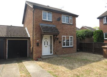 Thumbnail 3 bedroom link-detached house for sale in Wilbye Close, Bury St. Edmunds