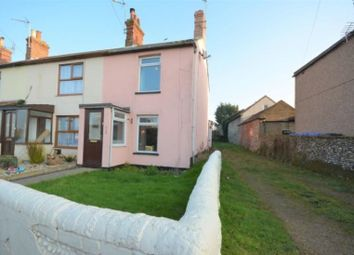 Thumbnail 3 bed end terrace house for sale in Church Road, Kessingland, Lowestoft, Suffolk