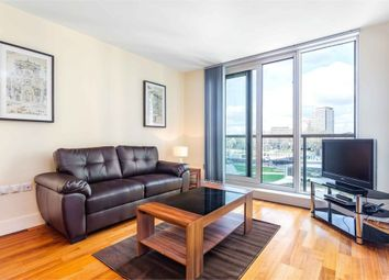 Thumbnail 1 bed flat to rent in Westcliffe Apartments, 1 South Wharf Road, London