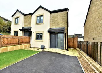 Thumbnail 2 bed semi-detached house for sale in Dinting Road, Glossop