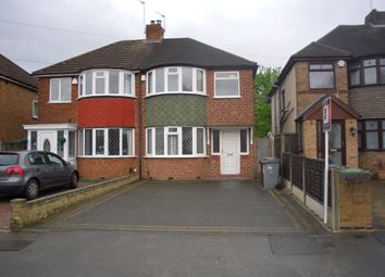 Thumbnail 3 bed semi-detached house to rent in Jillcot Road, Solihull