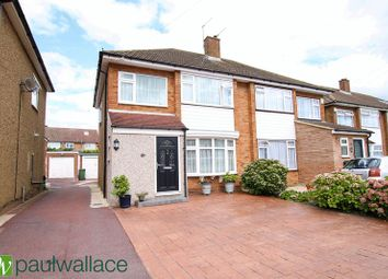 Thumbnail 3 bed semi-detached house for sale in Cadmore Lane, Cheshunt, Waltham Cross