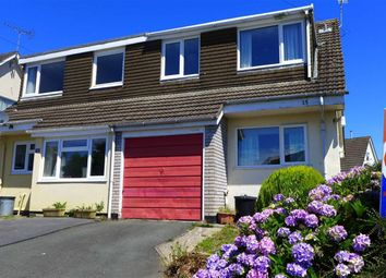 Thumbnail 3 bed semi-detached house for sale in Bryncastell, Bow Street, Ceredigion