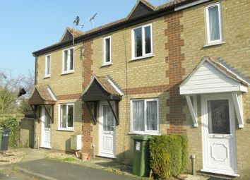 Thumbnail 2 bed terraced house to rent in Pringle Way, Southery, Downham Market