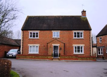 Thumbnail 4 bed detached house for sale in Dunley Close, Redhouse, Swindon