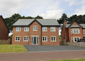 Thumbnail 5 bed detached house for sale in Farington Lodge Gardens, Farington, Leyland