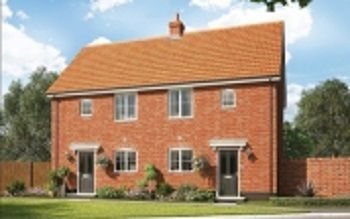 Thumbnail 1 bed semi-detached house for sale in Silfield Road, Wymondham
