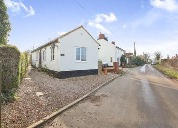 Thumbnail 2 bed detached bungalow for sale in Swardeston Lane, East Carleton, Norwich