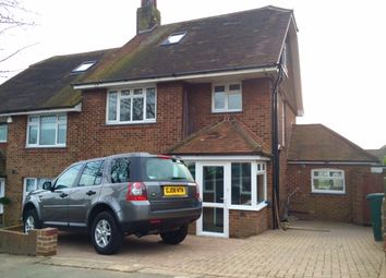 Thumbnail 4 bed semi-detached house to rent in Elizabeth Avenue, Hove