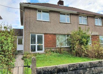 Thumbnail 3 bed semi-detached house for sale in Onslow Terrace, Brynmenyn, Bridgend, Mid Glamorgan