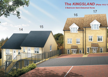 Thumbnail 3 bed semi-detached house for sale in Blenheim Rise, Randwick, Stroud, Gloucestershire