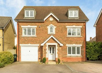 Thumbnail 5 bedroom detached house for sale in Carnet Close, Crayford, Kent