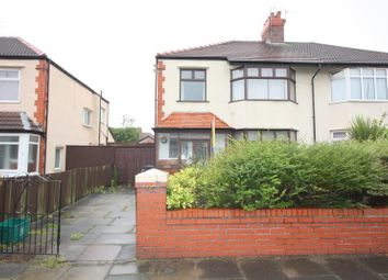 Thumbnail 3 bed semi-detached house to rent in Manor Avenue, Crosby, Liverpool