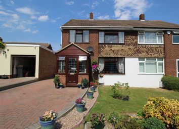 Thumbnail 3 bed semi-detached house for sale in Long Walk, Istead Rise, Gravesend