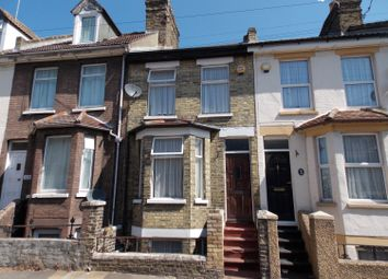Thumbnail 3 bed terraced house for sale in Rochester Avenue, Rochester