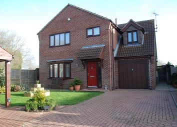 Thumbnail 4 bed detached house for sale in Northfield Close, West Butterwick, Scunthorpe