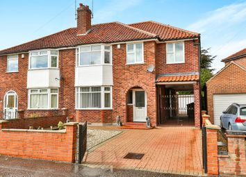 Thumbnail 5 bed semi-detached house for sale in Oak Lane, Norwich