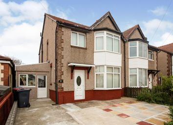 Thumbnail 3 bed semi-detached house for sale in St. Andrews Avenue, Thornton-Cleveleys, Lancashire, .