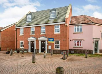 3 bed terraced house for sale in Tortoiseshell Drive, Attleborough NR17