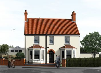Thumbnail 4 bedroom detached house for sale in Neville Road, Heacham, King's Lynn