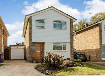 Thumbnail 3 bedroom detached house for sale in Sayer Way, Knebworth, Hertfordshire