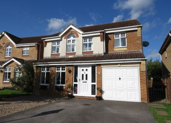 Thumbnail 4 bed detached house for sale in Warwick Close, Saxilby, Lincoln