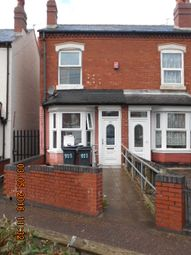 Thumbnail 3 bedroom terraced house for sale in Cyril Road, Small Heath