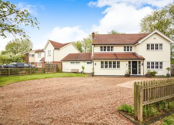 Thumbnail 5 bedroom detached house for sale in Church Road, Hatfield Peverel, Chelmsford