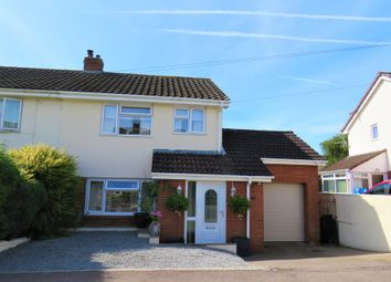 Thumbnail 3 bed semi-detached house for sale in Darren Road, Coleford