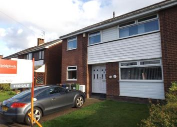 Thumbnail 4 bed semi-detached house for sale in Fairlea, Denton, Manchester, Greater Manchester