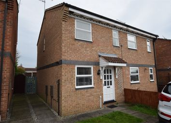 Thumbnail 2 bed semi-detached house to rent in Beresford Close, Danesmoor, Chesterfield, Derbyshire