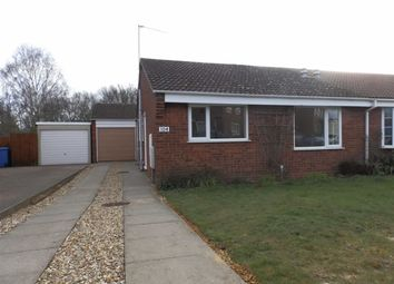 Thumbnail 2 bed semi-detached bungalow for sale in Braziers Wood, Ipswich, Suffolk