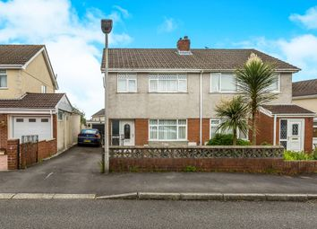 Thumbnail 3 bedroom detached house for sale in Plas Newydd, Grovesend, Swansea