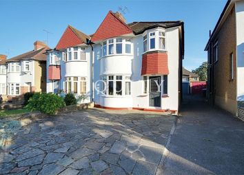 Thumbnail 3 bed semi-detached house for sale in Elmer Close, Enfield