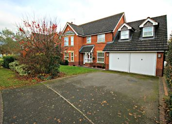 Thumbnail 4 bed detached house for sale in Sundew Close, Claines, Worcester