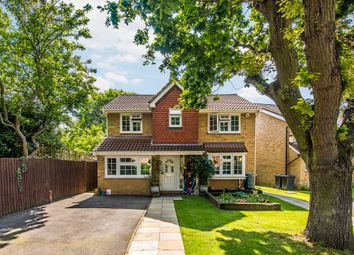 Thumbnail 4 bed detached house for sale in Chelsea Close, Worcester Park
