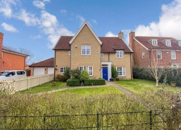 Thumbnail 5 bed detached house for sale in Sowdlefield Walk, Mulbarton, Norwich