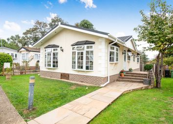 Thumbnail 3 bed mobile/park home for sale in Bushey Hall Park, Bushey Hall Drive, Bushey