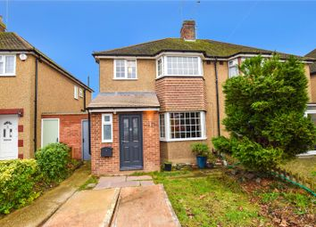 Thumbnail 3 bed semi-detached house for sale in Hillingdon Road, Watford, Hertfordshire
